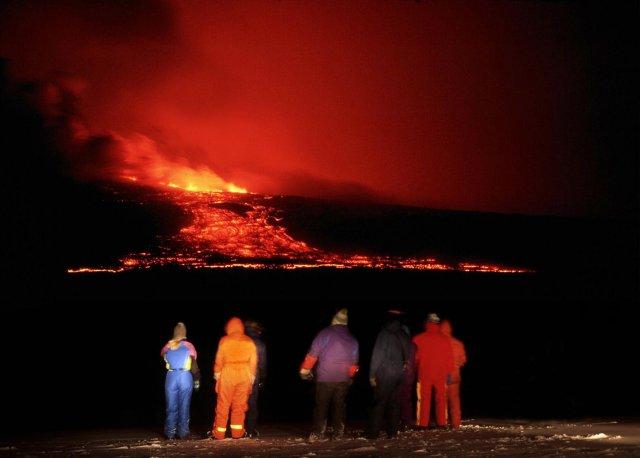 Hekla erupcia 2000 photo Iceland Monitor Ragnar axelsson