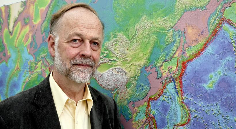 Prof. Páll Einarsson. Photo Iceland monitor Ómar Óskarsson