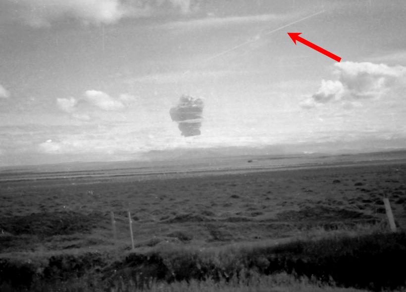 Vybuch Hekli v roku 1980 aj s lietadlom