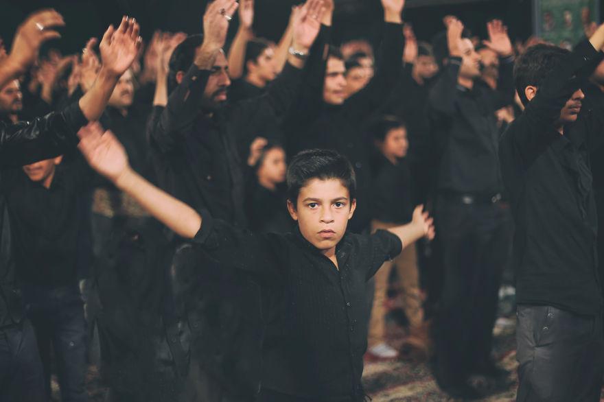 Ashura a dieťa Irán