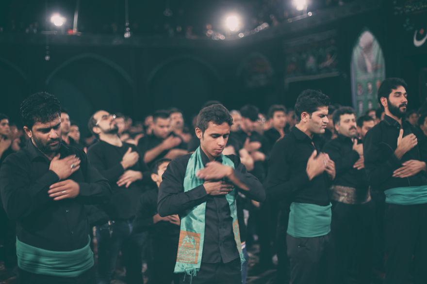 Iran emocia počas Ashura