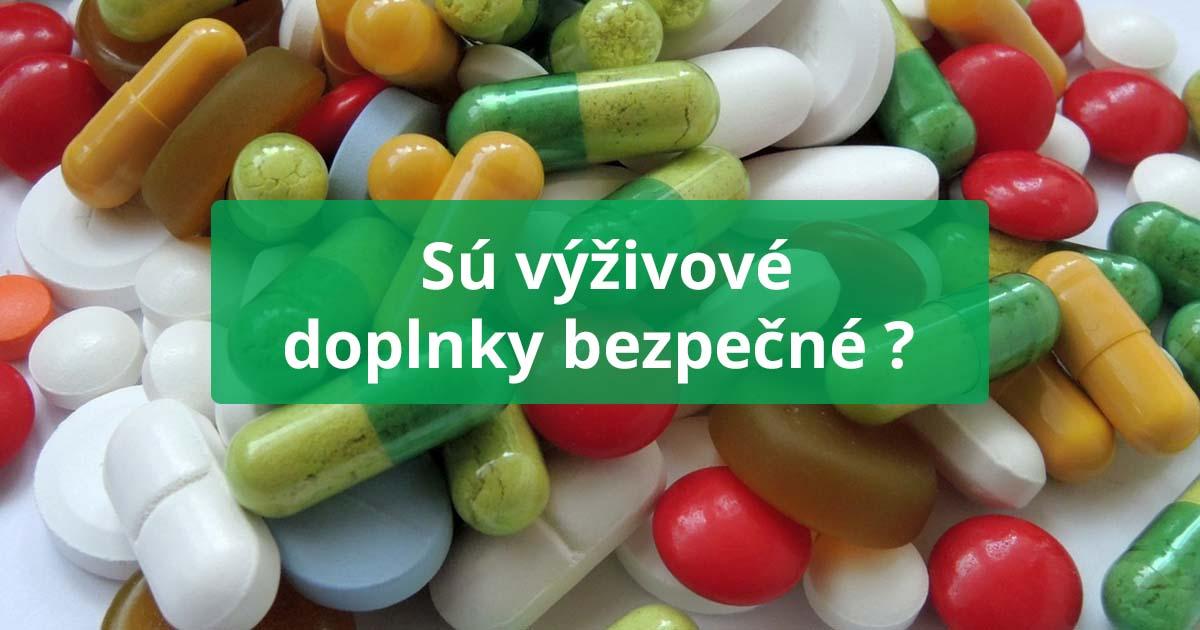 6f1f5f7dd Sú výživové doplnky bezpečné? - situ.sk